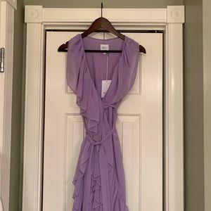 Misa Los Angeles wrap dress